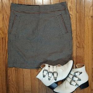 🐶Vintage Tommy Hilfiger Houndstooth Mini Skirt